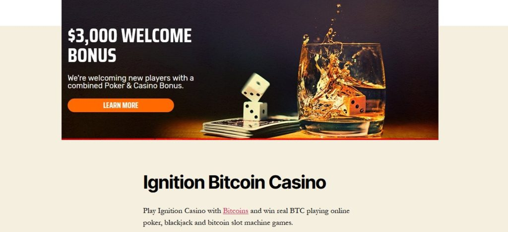Vegas Bitcoin Casino | Ignition Casino